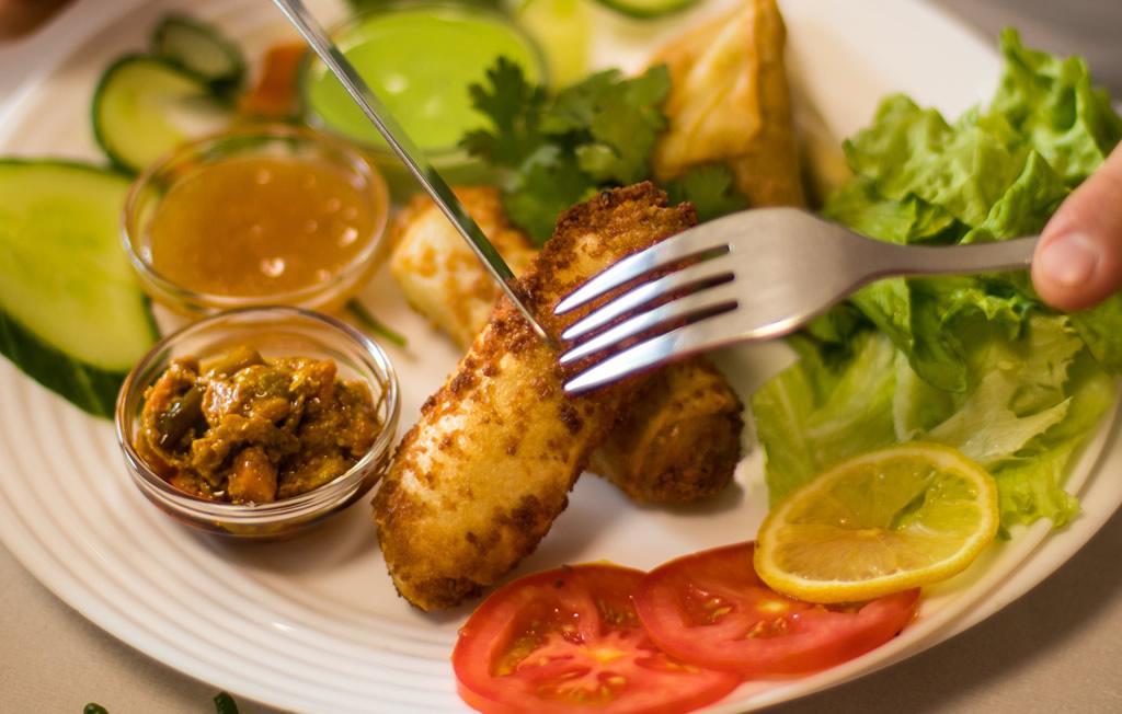 Rouleaux de boeuf - Restaurant le Bombay Rennes